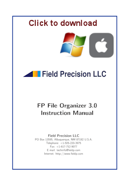 FP File Organizer instruction manual