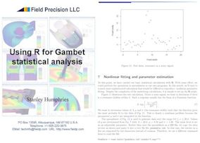R for GamBet Statistical Analysis